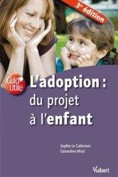 La couverture et les autres extraits de L'adoption : du projet à l'enfant