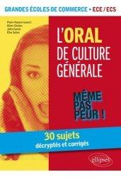 L'oral de culture générale