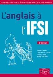 La couverture et les autres extraits de L'Anglais en IFSI