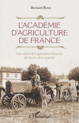 L'Académie d'agriculture de France