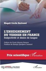 L'enseignement du yiddish en France