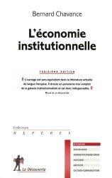 L'économie institutionnelle