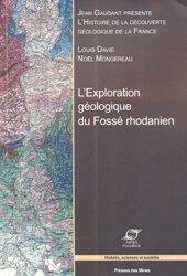 L'exploration géologique du Fossé Rhodanien