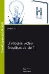 L'hydrogène, vecteur énergetique du futur