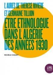 L'Aurès de Thérèse Rivière et Germaine Tillion
