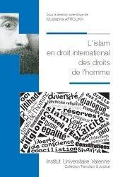 L'islam en droit international des droits de l'homme