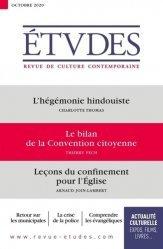 L'hégémonie hindouiste ; Le bilan de la Convention citoyenne ; Leçon du confinement pour l'Eglise