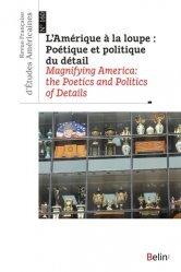 L'Amérique à la loupe : poétique et politique du détail