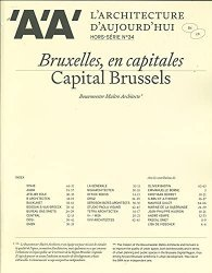 L'Architecture d'Aujourd'hui HS n°34 : Bruxelles, en capitales
