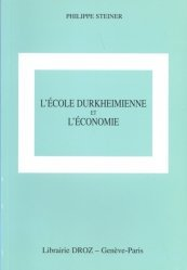 L'école durkheimienne et l'économie