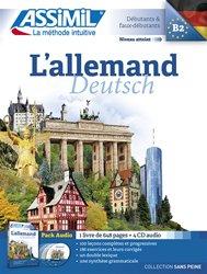 Pack CD - L'Allemand - Deutsch - Débutants et Faux-débutants