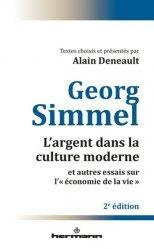 L'argent dans la culture moderne et autres essais sur 'l'économie de la vie'