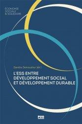 L'ESS : entre développement social et développement durable