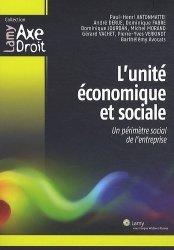 L'unité économique et sociale. Un périmètre social de l'entreprise