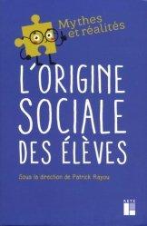 L'origine sociale des élèves