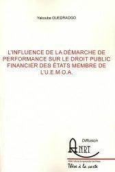 L'influence de la démarche de performance sur le droit public financier des Etats membre de l'U.E.M.O.A.