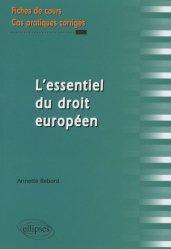 L'essentiel du droit européen