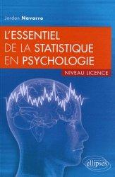 L'essentiel de la statistique en psychologie