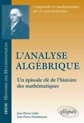 L'analyse algébrique