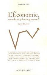 L'économie, une science qui nous gouverne