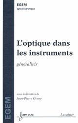 L'optique dans les instruments