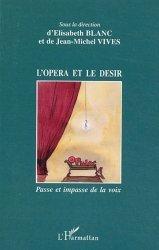 L'opéra et le désir
