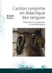 L'action conjointe en didactique des langues