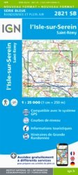 La couverture et les autres extraits de Quillan, Alet-les-Bains. 1/25 000, Edition français-anglais-allemand