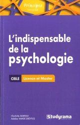 L'indispensable de la psychologie
