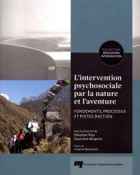 L'intervention psychosociale par la nature et l'aventure