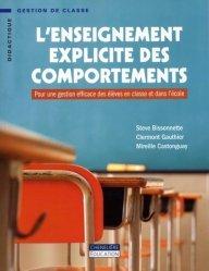 L'enseignement explicite des comportements