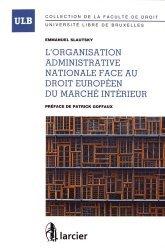 La couverture et les autres extraits de Procédure administrative contentieuse. 3e édition