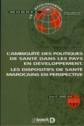 L'ambiguïté des politiques de santé dans les pays en développement