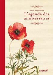 L'agenda des anniversaires