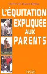 L'équitation expliquée aux parents