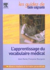 L'apprentissage du vocabulaire médical