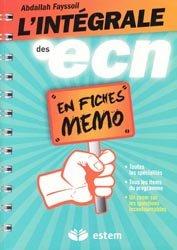 L'intégrale des ECN en fiches mémo