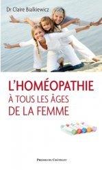L'homéopathie à tous les âges de la femme