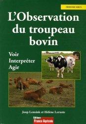 L'observation du troupeau bovin