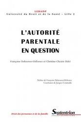 L'autorité parentale en question