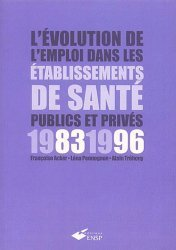 L'évolution de l'emploi dans les établissements de santé publics et privés 1983-1996