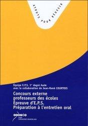L'épreuve d'EPS au concours de recrutement de professeur des écoles
