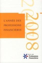 L'année des professions financières