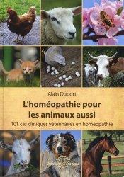 L'homéopathie pour les animaux aussi