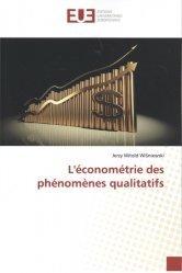 L'économétrie des phénomènes qualitatifs