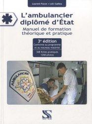 L'ambulancier diplomé d'État
