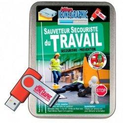 La clé USB formateur SST: sauveteur secouriste du travail