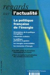 La politique française de l'énergie