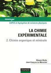 La chimie expérimentale