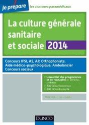 La culture générale sanitaire et sociale 2014